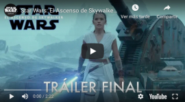 Video: Star Wars 9 'El Ascenso de Skywalker' y el sorpresivo regreso de Palpatine